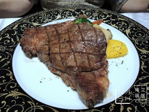 鲜切牛排的食评