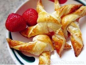 草莓風車酥