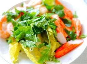 薄荷蝦沙拉