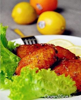 檸檬香焗雞翅