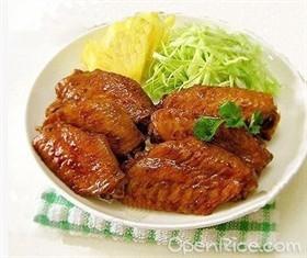 沙拉菠蘿雞翼