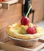 水果酥皮起司塔