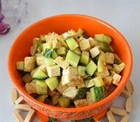 黃瓜拌豆腐
