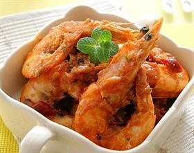 泰式咖哩蝦