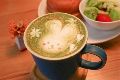 京都宇治抹茶咖啡拿鐵
