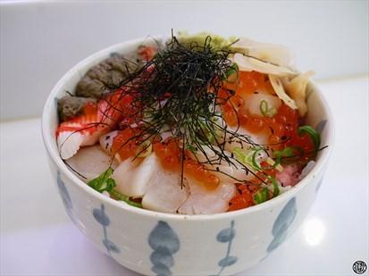 北海道干貝丼
