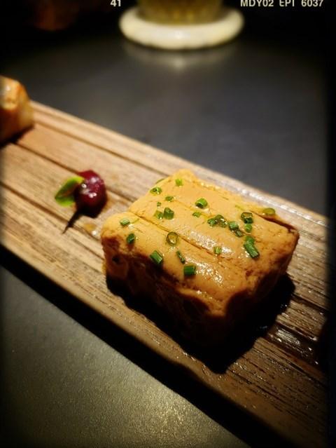 台式蘿蔔糕微烤法國鴨肝醬