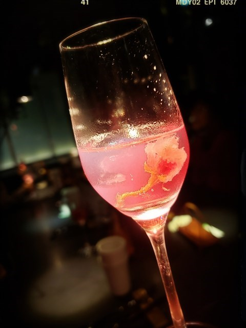 小红莓凍飲