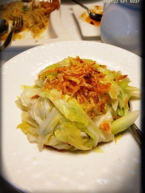 櫻花蝦高麗菜(NT 350)